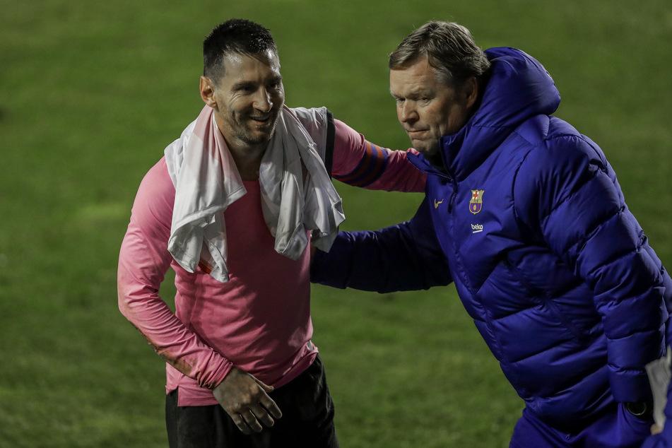 Unter Neu-Trainer Ronald Koeman (57, r.) läuft es für den FC Barcelona in dieser Spielzeit durchwachsen.