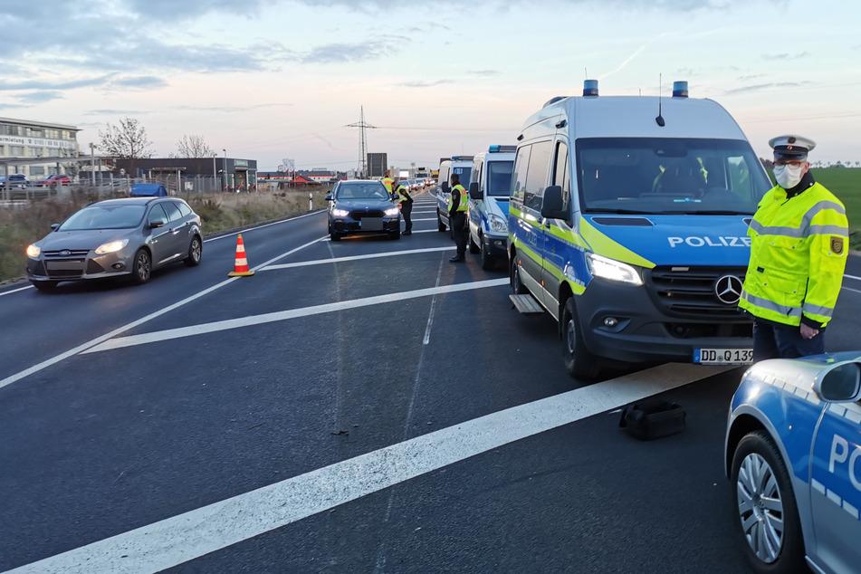 Hintergrund der Kontrollen war der verspätete Lockdown in Sachsen-Anhalt.