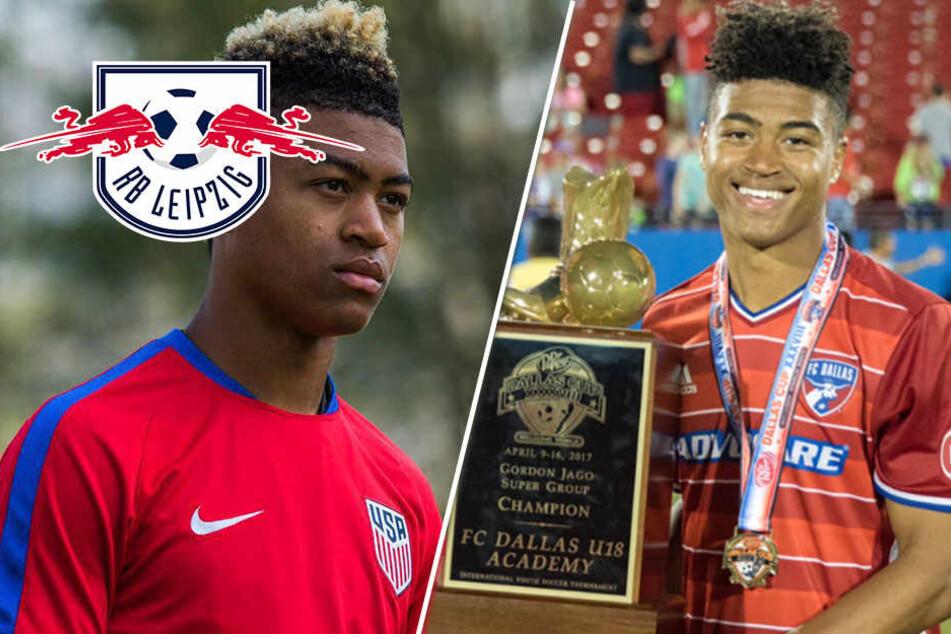 Dieser US-Boy verkündet seinen Wechsel zu RB Leipzig selbst