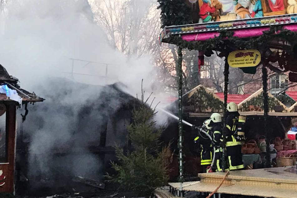 Beim Wechseln einer Gasflasche kam es gegen 16 Uhr zur Explosion.