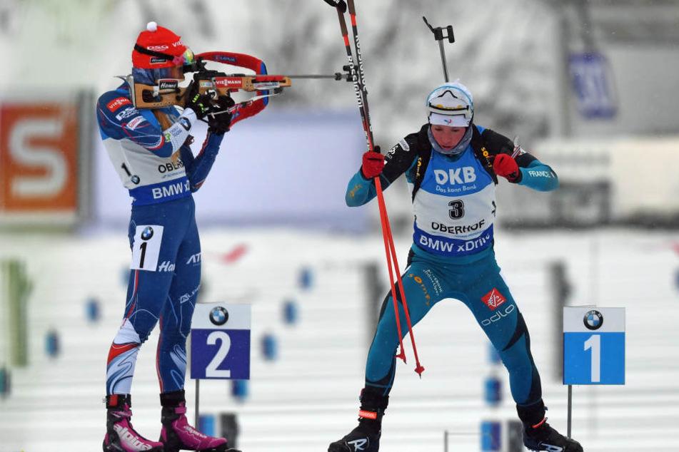 Findet die Biathlon-Weltmeisterschaft 2023 im Thüringer Wald statt? Oberhof will sich zumindest dafür bewerben.