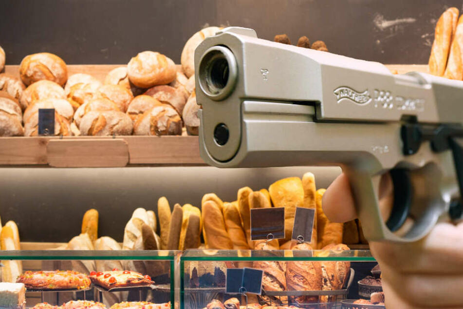 Bewaffneter Raubüberfall auf Bäckerei in Wiesbaden, doch Verkäuferin reagiert cool