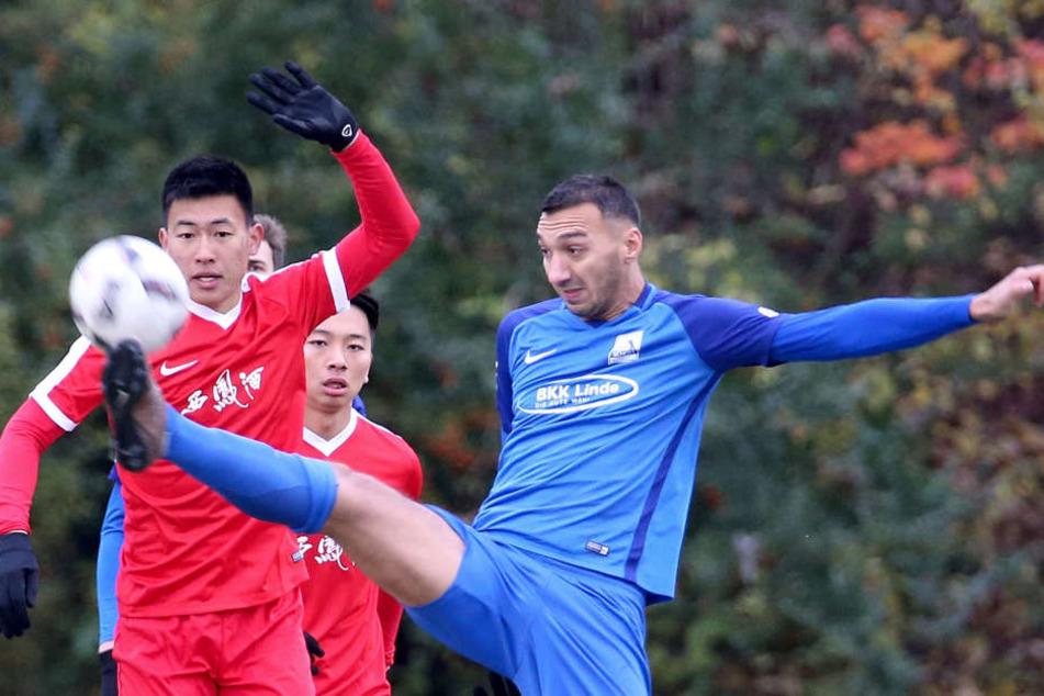 Der 3:0-Erfolg des TSV Schott Mainz wurde zur Nebensache.