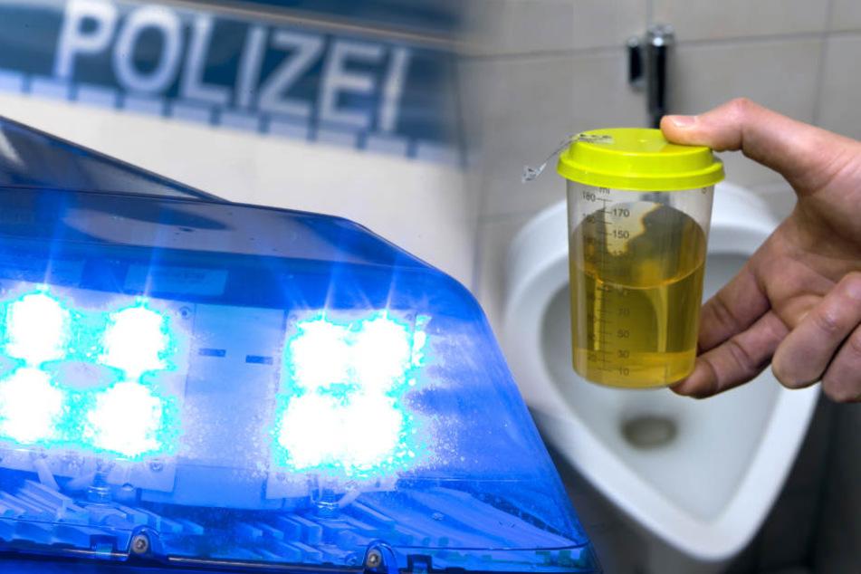 In beiden Fällen wurden die Männer zum freiwilligen Urintest gebeten. (Symbolbild)