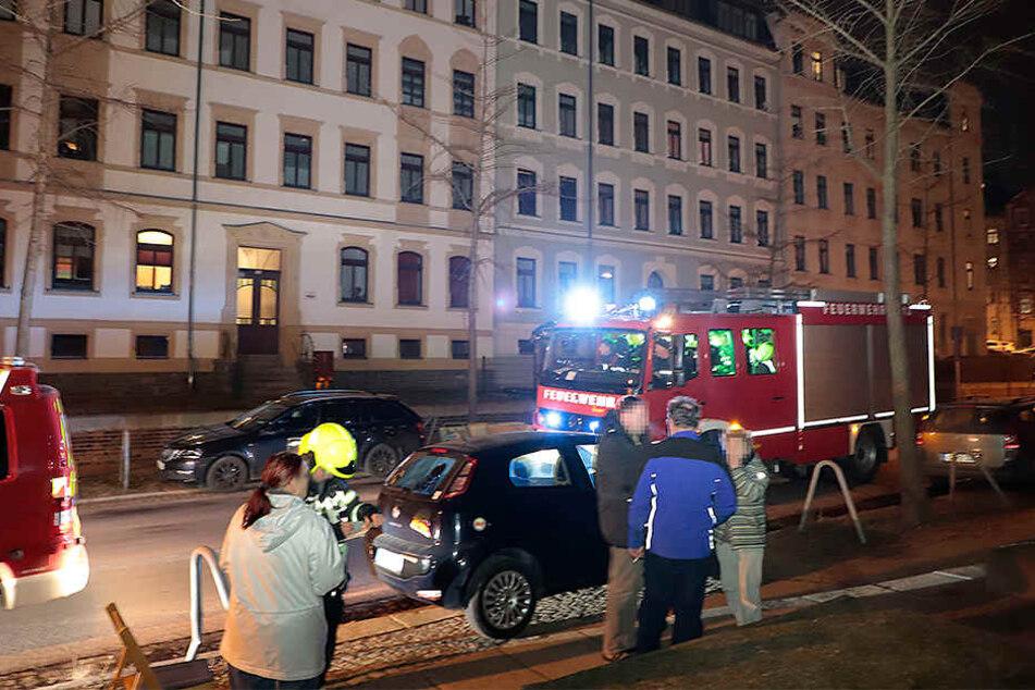 Das Feuer war am Freitagabend in einer Erdgeschosswohnung in der Margaretenstraße ausgebrochen.