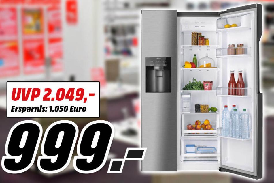 Side By Side Kühlschrank Frankfurt : 800 euro im preis gesenkt: mediamarkt verkauft diesen samsung tv