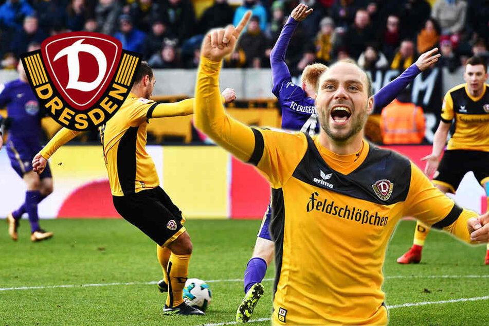 Gutes Omen für Dynamo: Benatelli hat noch nie ein Sachsenderby verloren!