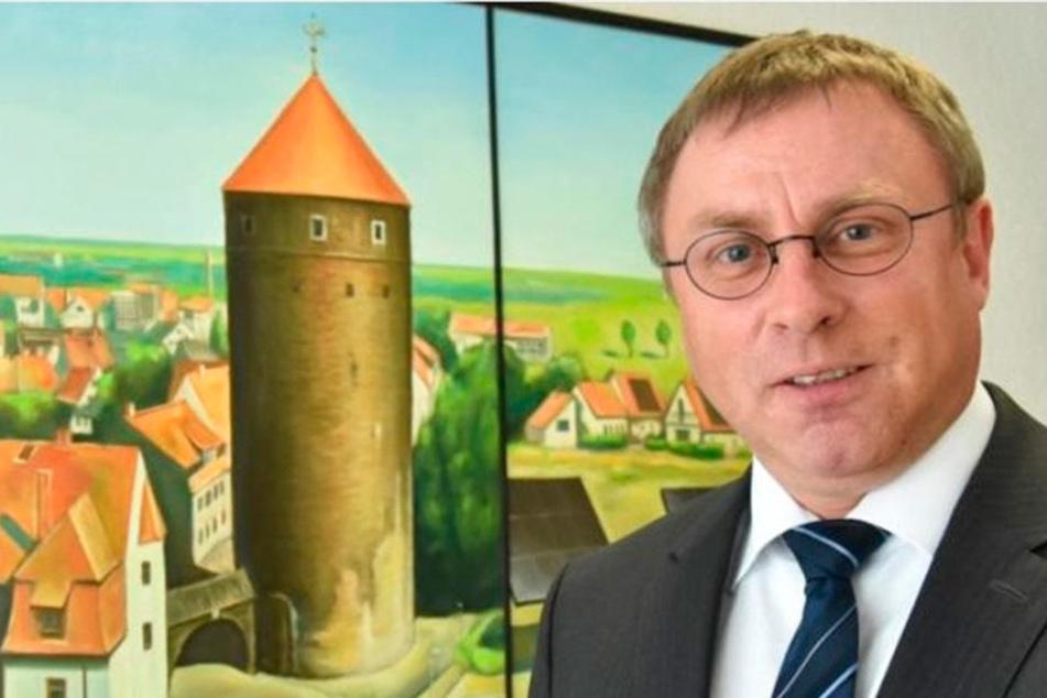 Axel Schneegans, Geschäftsführer des Freiberger Bäderbetriebs.