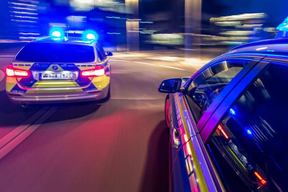 Die Fahrer legten sich mit den Polizeibeamten an. (Symbolbild)