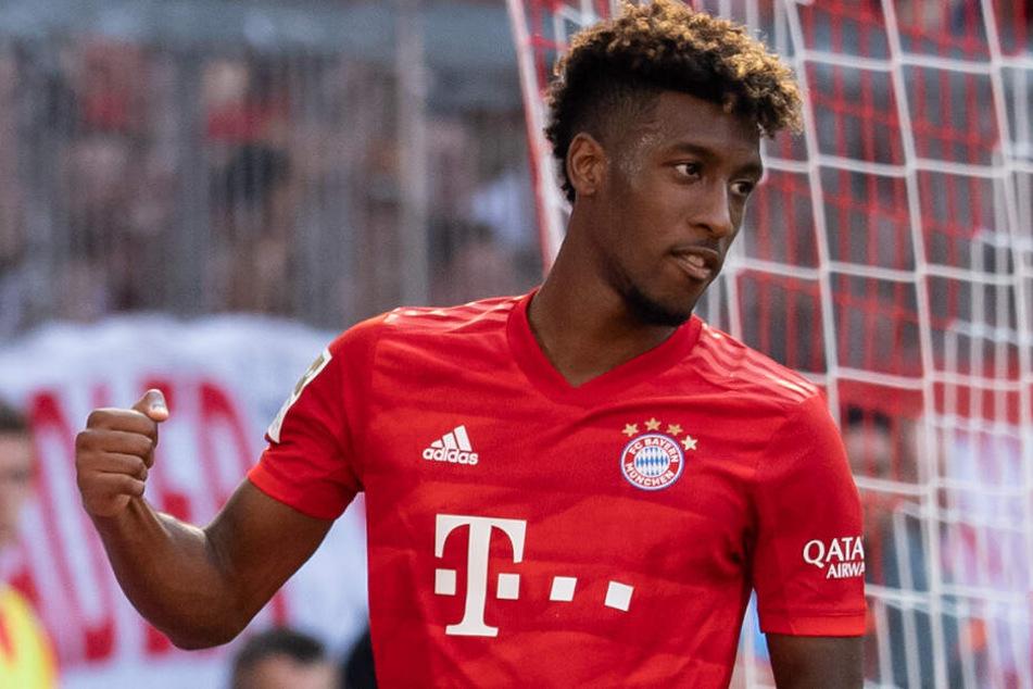 Kingsley Coman hat beim FC Bayern München einen Vertag bis Sommer 2023.