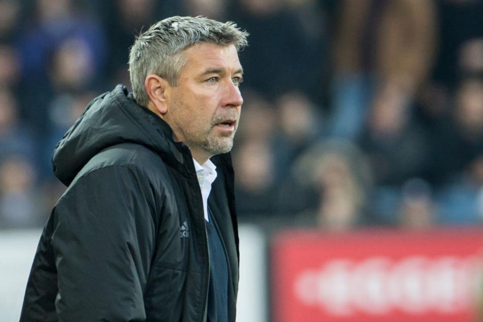 Urs Fischer stand bis Sommer 2017 für den FC Basel als Trainer am Spielfeldrand.