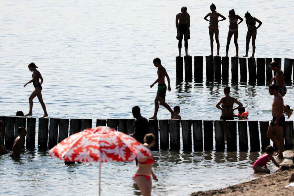 Am Markkleeberger See sind mehrere syrische Mädchen verunglückt..