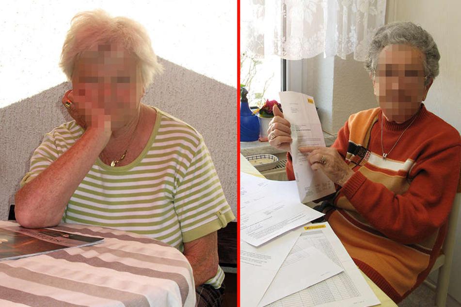 Kundin Marianne S. (88) verlor fast 45.000 Euro, die Grünaerin Karla D. (77) rund 7.000 Euro.