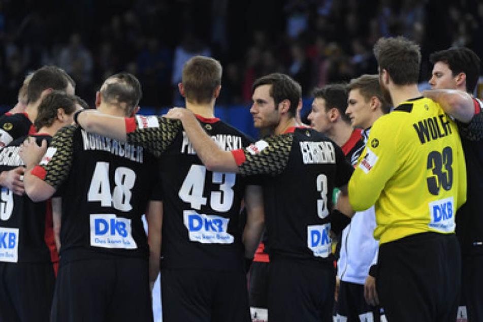 Die Handball-Herren zeigten sich wiederum als verschworene Einheit.