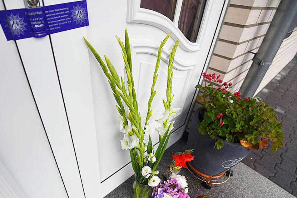 Am Samstag wurde die 80-Jährige tot in ihrer Wohnung gefunden. Eine Mordkommission ermittelt.