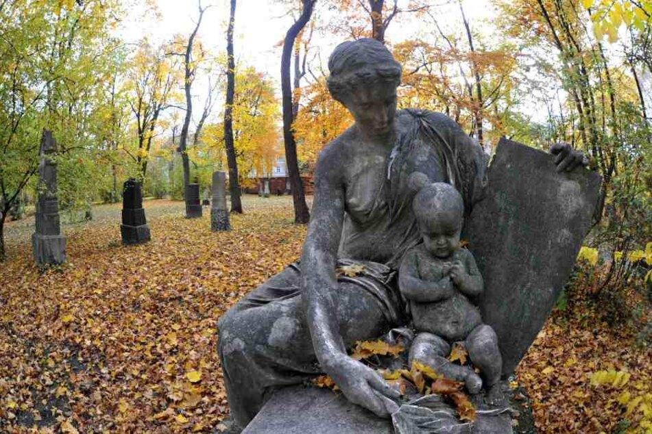 Auf dem Alten Nördlichen Friedhof in München wurden schon länger keine Begräbnisse mehr durchgeführt.