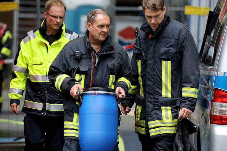 Einsatzkräfte konnten in Köln einen Terroranschlag mit einer Rizin-Bombe verhindern.