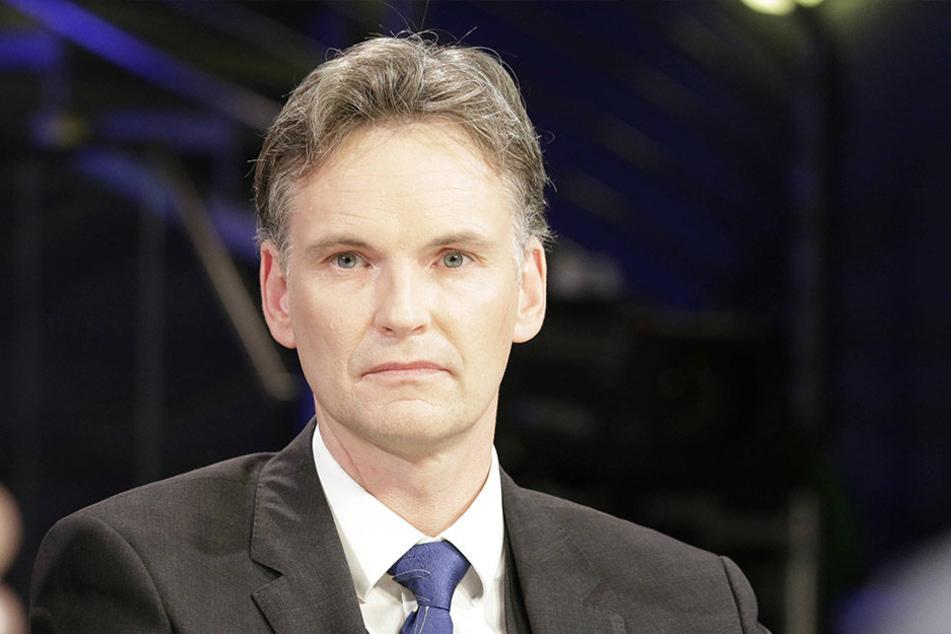 """Durch den """"Spiegel""""-Bericht erneut unter Druck: Sachsens  Verfassungsschutz-Chef Gordian Meyer-Plath (48)."""
