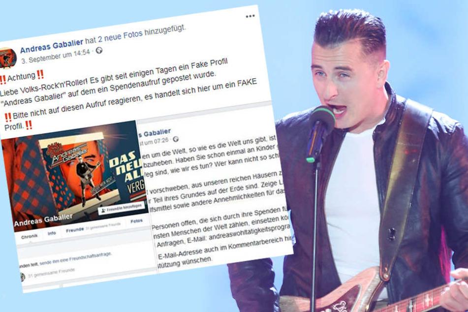 Facebook-Betrug! Andreas Gabalier warnt seine Fans