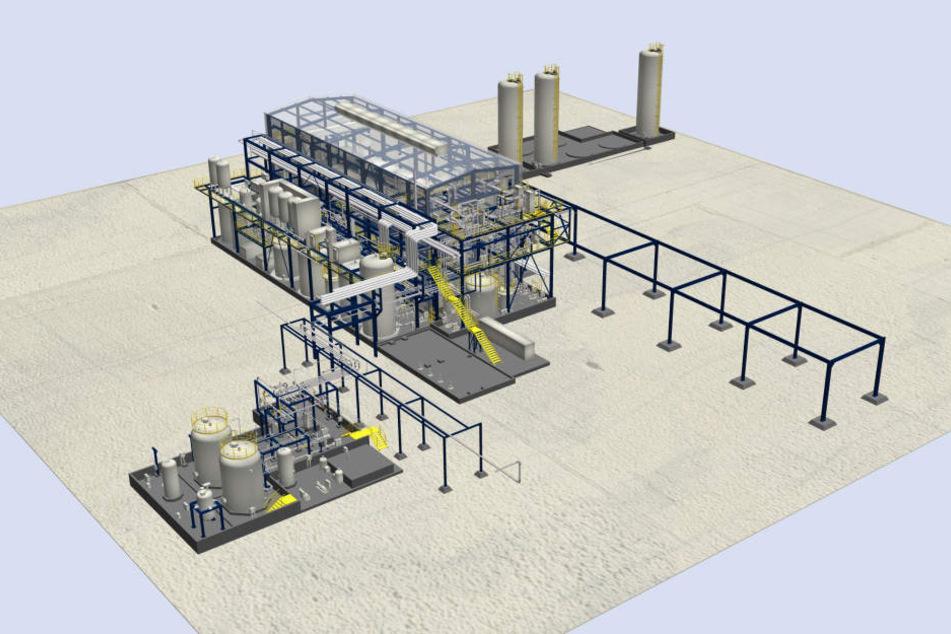 CAC errichtet schlüsselfertige Chlor-Alkali-Elektrolyseanlage in Spanien.
