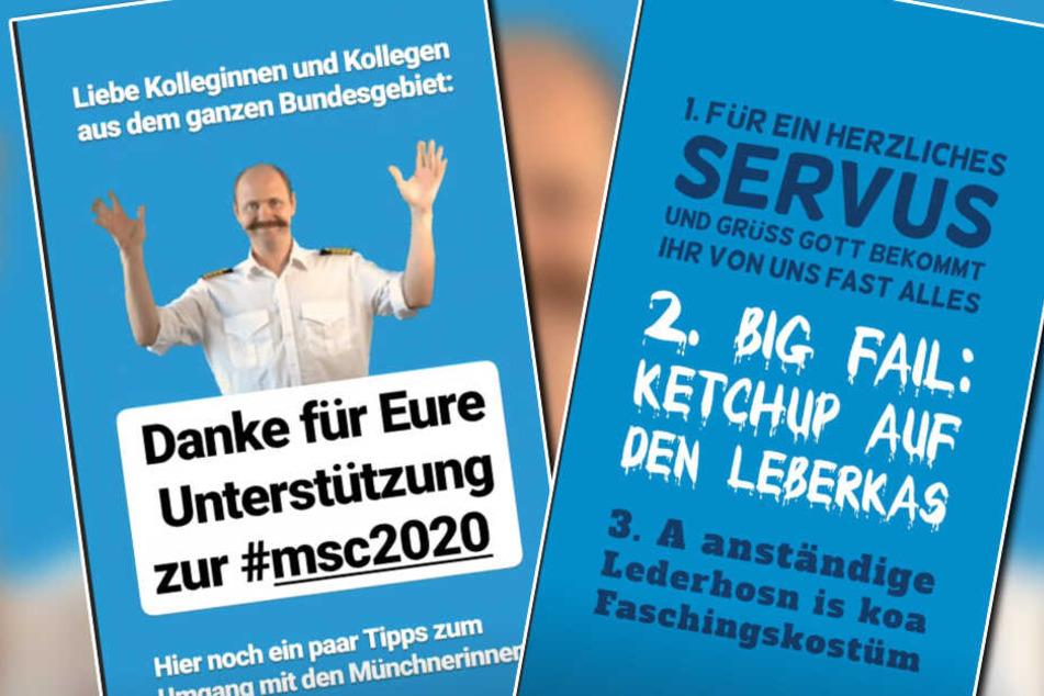 Wie man mit Münchnern umgeht: Polizei München gibt Tipps an Kollegen.