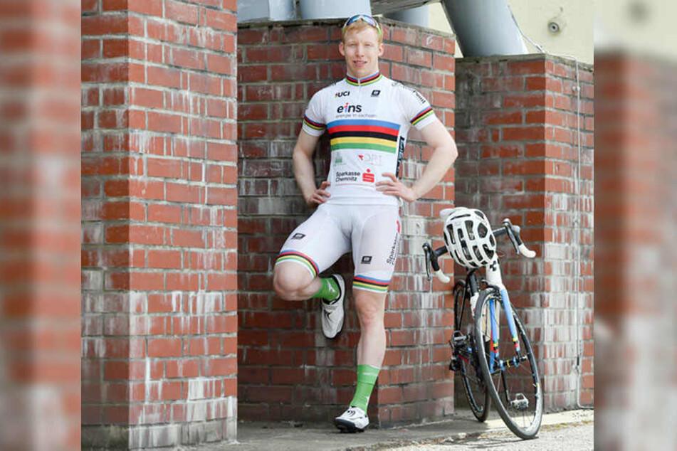 Der Vorzeige-Sportler: Joe Eilers (27) braucht Topbedingungen. Die sollen im Sportforum nun hergestellt werden.