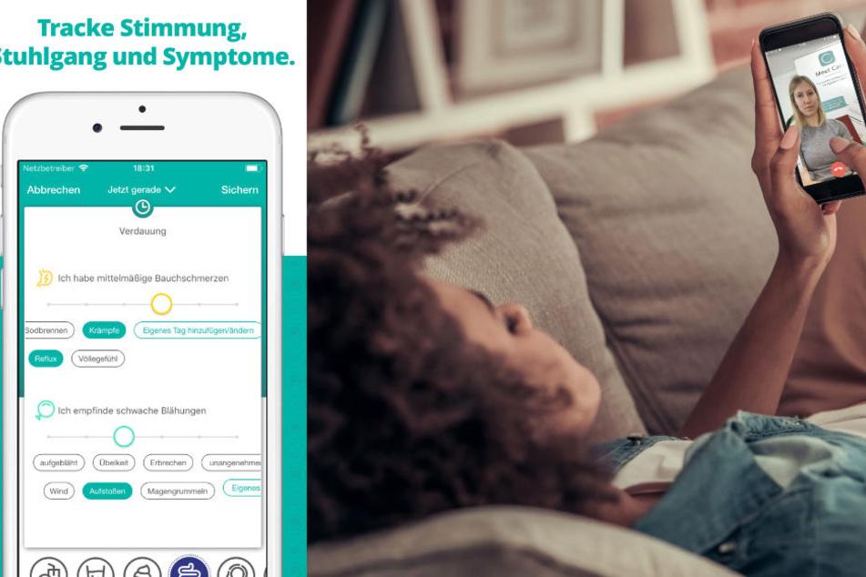 """Die App """"Cara Care"""" bietet eine individuelle Ernährungsberatung."""
