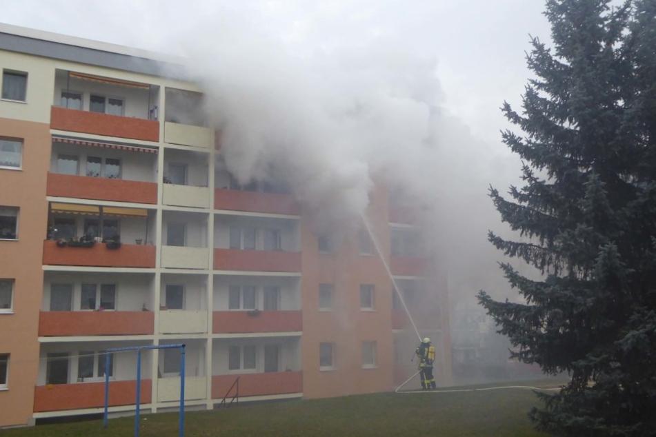 Topf vergessen: Zwei Verletzte bei Wohnungsbrand