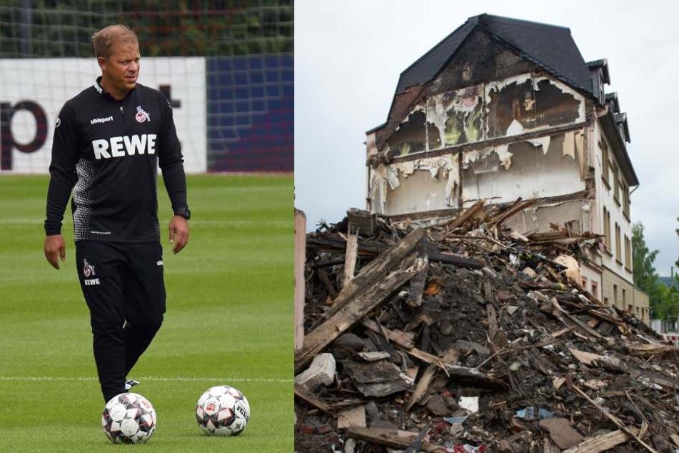 Markus Anfang (44) und seine Mannen spenden die Antrittsprämie eines Testspiels den Betroffenen der Explosion in Wuppertal.