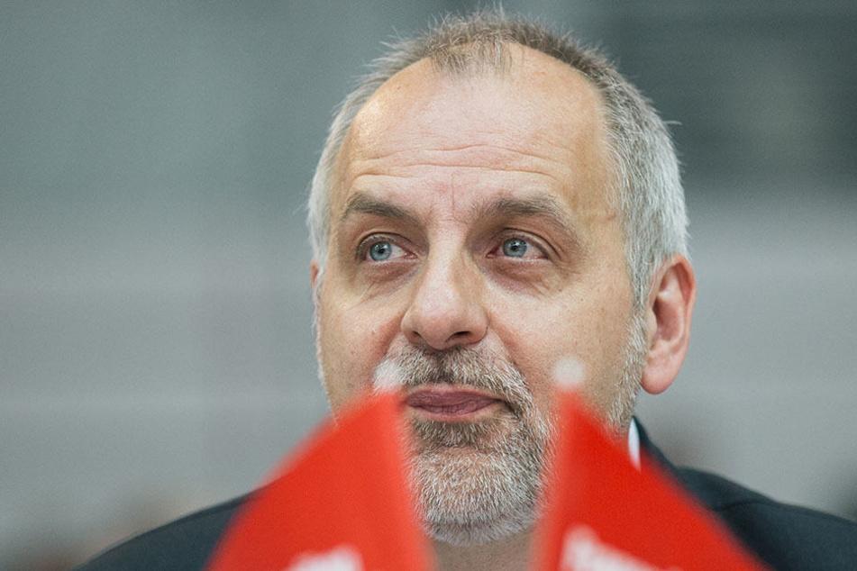 """Linken-Chef Rico Gebhardt wirft der CDU Sachsen eine große Mitverantwortung für das AfD-Abschneiden bei der Bundestagswahl vor: """"Die AfD wird begeistert sein."""""""