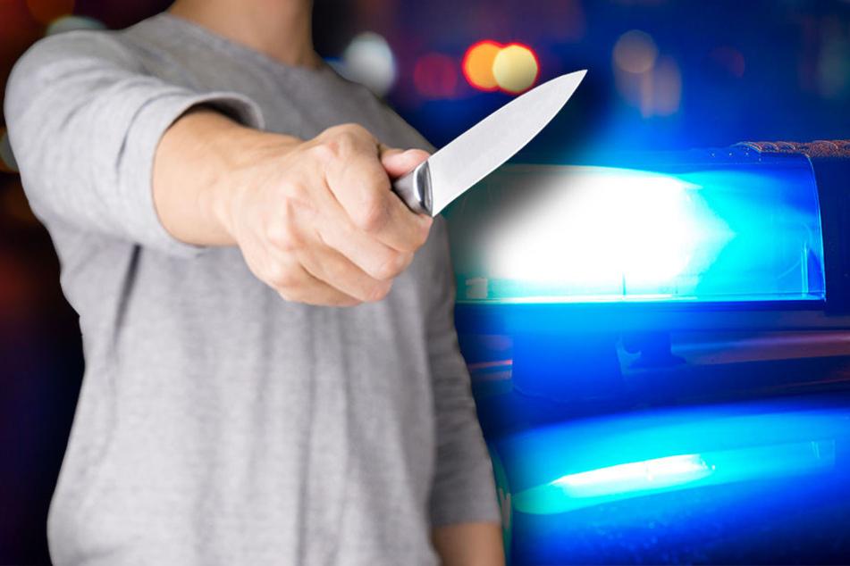 Mit einem Messer attackierte der 27-Jährige sein Opfer.