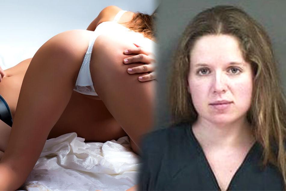 Andrea Baber (29) vergnügte sich mit einem Teenager beim illegalen Techtelmechtel.