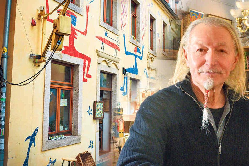 Nach zwei Jahrzehnten: Trauriger Abschied in der Kunsthofpassage