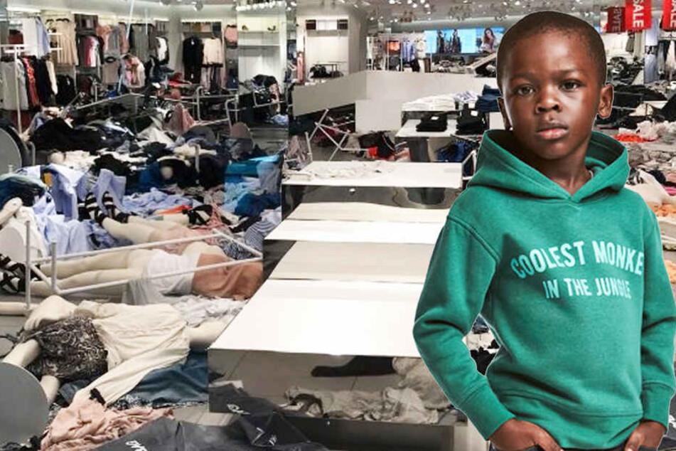 Nach Rassismus-Skandal: Kunden zerlegen komplette H&M-Filialen
