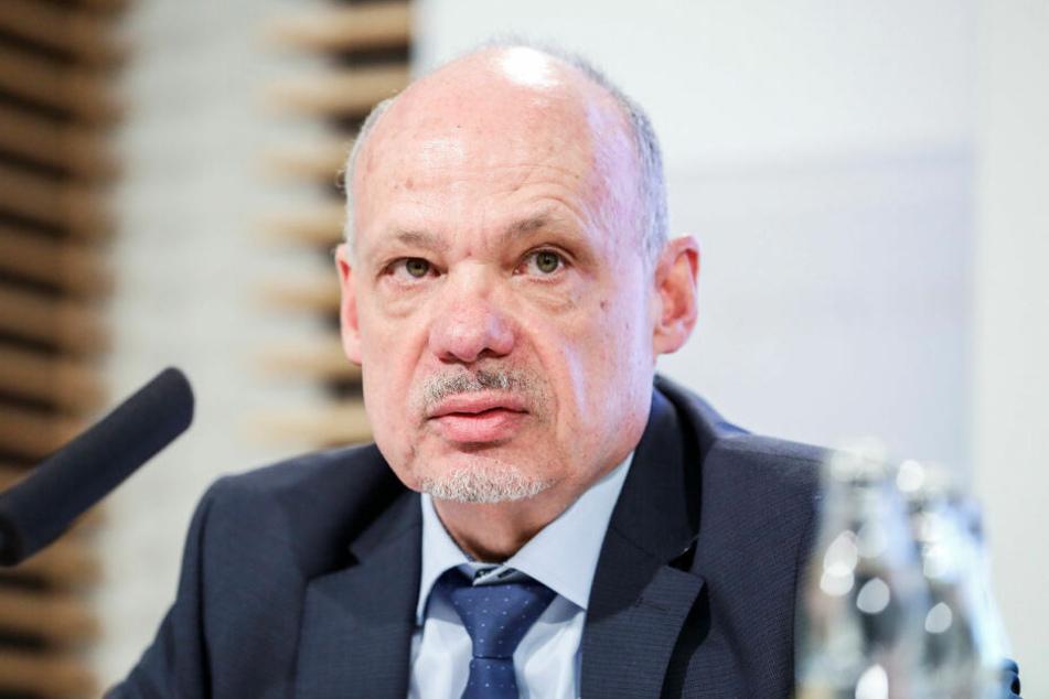 Hat einen neuen Kriminalitätsschwerpunkt: LKA-Chef Petric Kleine (56).