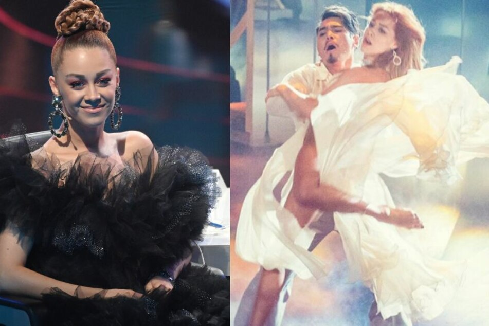 Zusammen mit ihrem Partner Erich Klann wird Oana nochmal eine Performance hinlegen.
