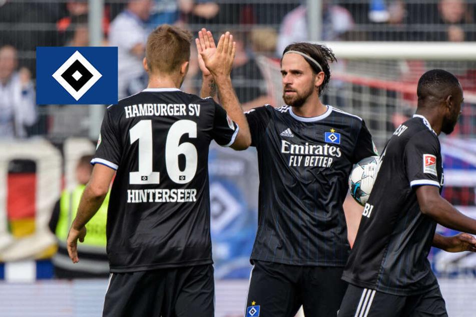 HSV lässt Punkte in Regensburg liegen!