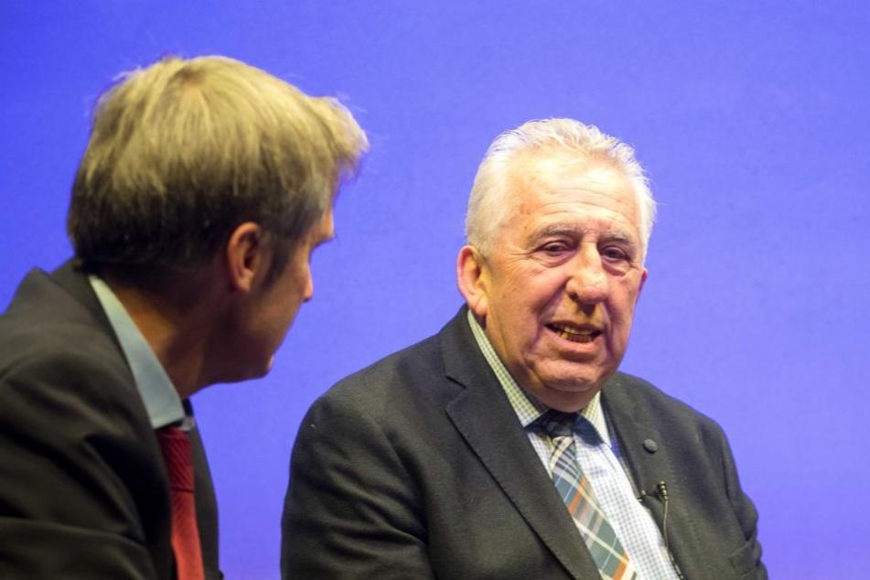 Egon Krenz (81) war am Sonntag in Dresden.