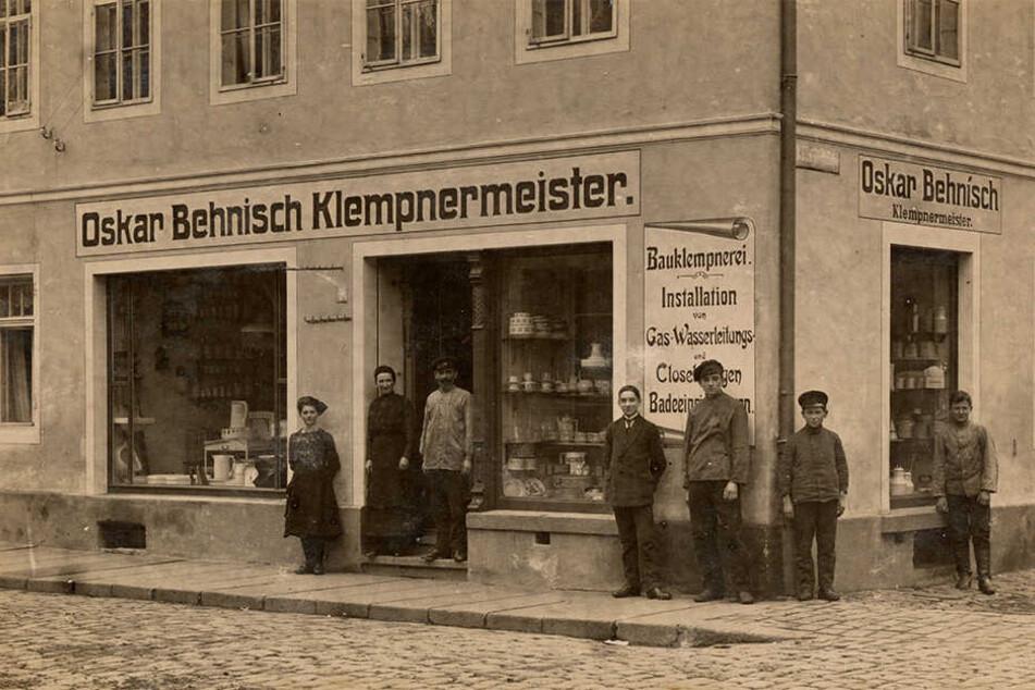 Seit 1869 gibt es die Behnisch-Klempnerei in Kamenz. Seit der zweiten Generation ist sie am aktuellen Standort.