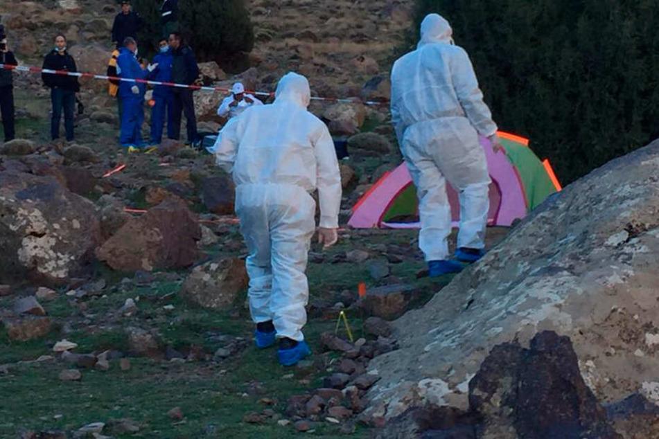 Am Fuß des bei Wanderern beliebten Berges Toubkal waren die Leichen zweier junger Frauen aus Skandinavien gefunden worden.