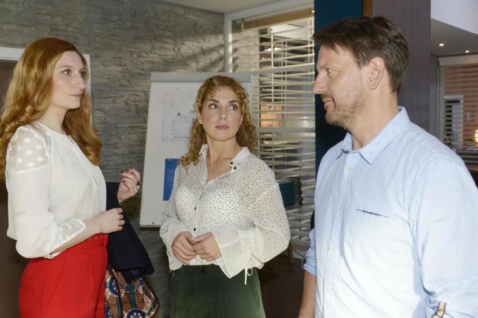 Plötzlich taucht Roberts Ex-Frau Kerstin Behrens (l.) am Kolle-Kiez auf und sorgt für Probleme.