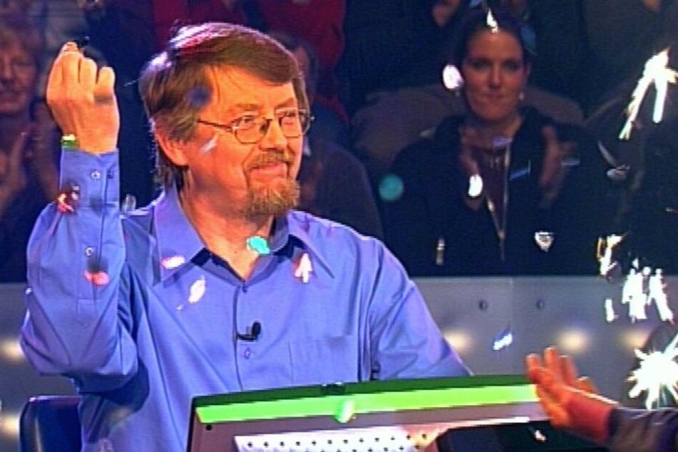 Gewann als Erster die Million: Prof. Dr. Eckhard Freise aus Münster am 02.12.2000.