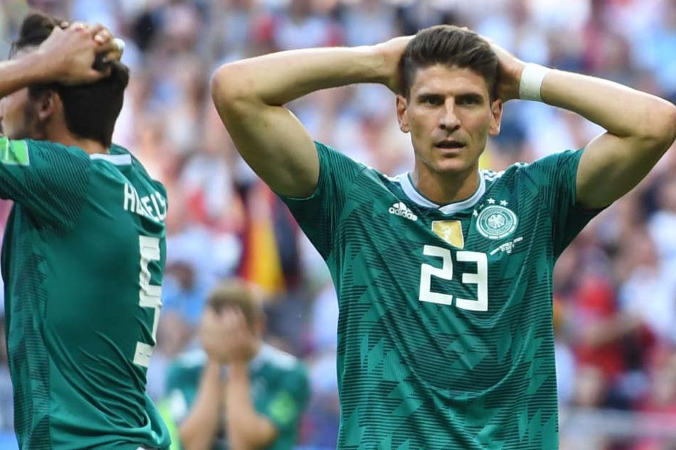 """Fühlt sich noch beschissen an"": So fertig macht Gomez das WM-Aus"