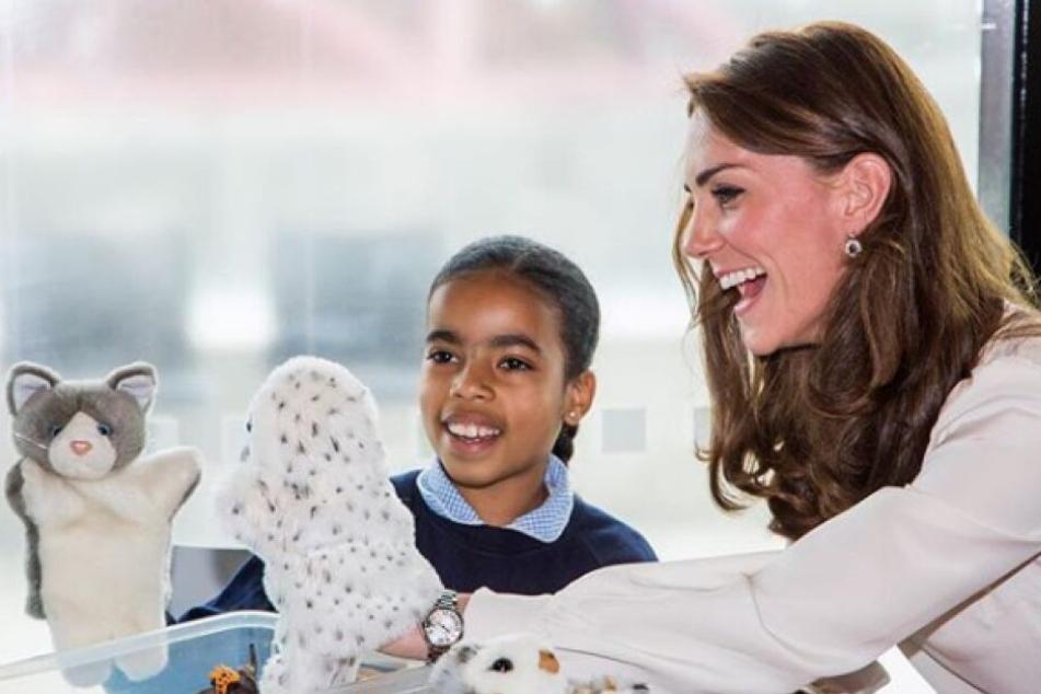 Kates Ziel: Auch Kinder sollten schon etwas über das Thema mentale Gesundheit erfahren.