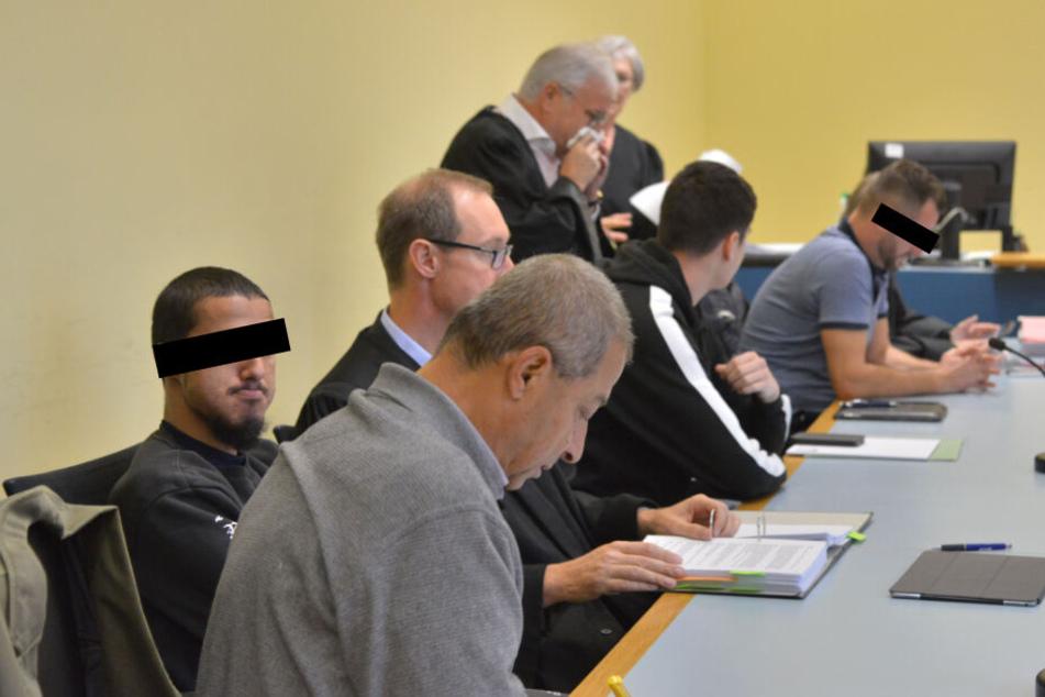 Die Männer mussten sich nun vor Gericht verantworten.