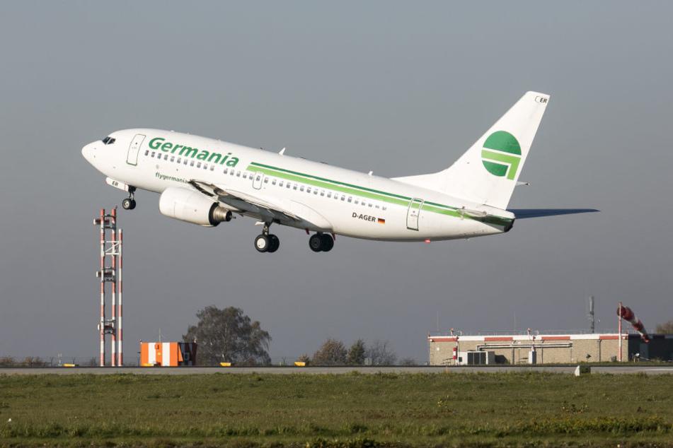 Die Boeing 737 meldete Hydraulik-Probleme.