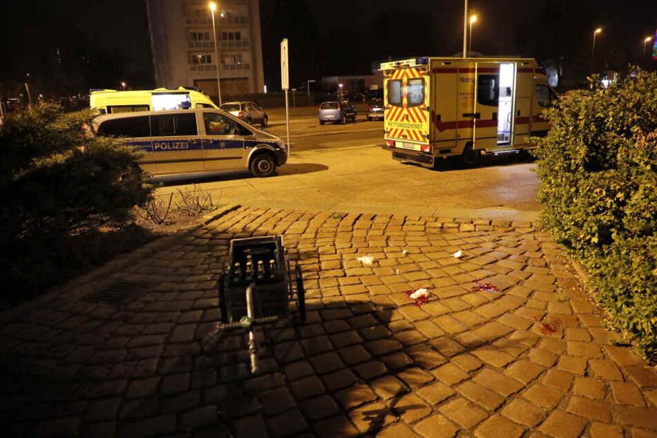 Die Schlägerei an der Theaterstraße in Chemnitz endete blutig.