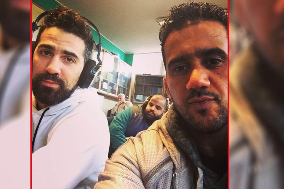 Bushido (39) und Arafat Abou-Chaker (42, re.) als sie sich noch mochten.