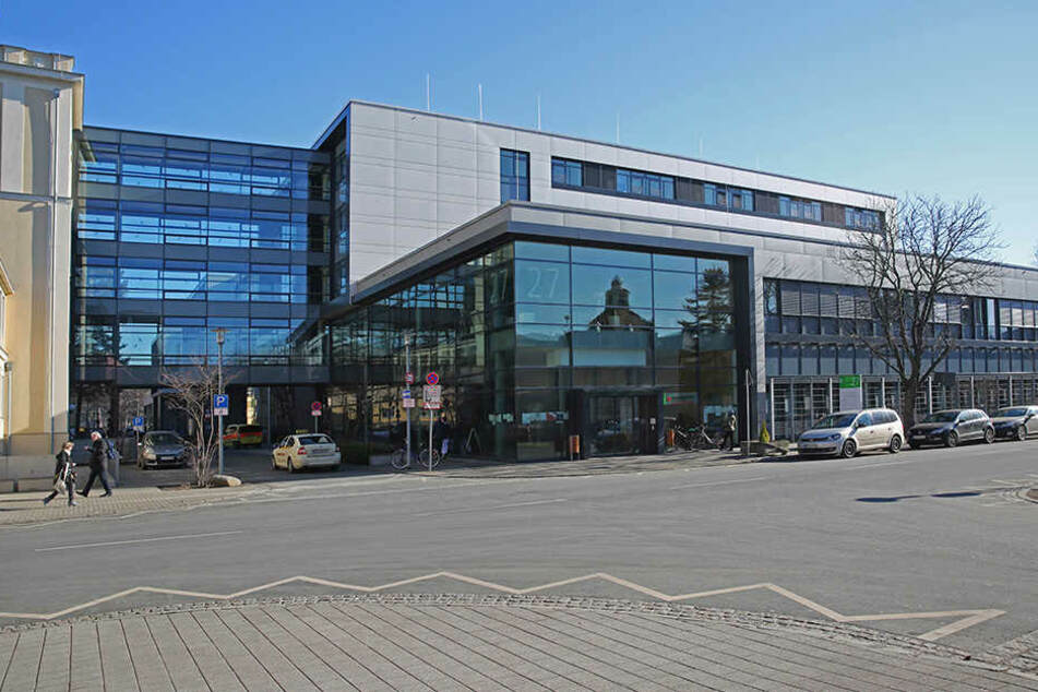 Die Klinik für Neurologie im Universitätsklinikum.