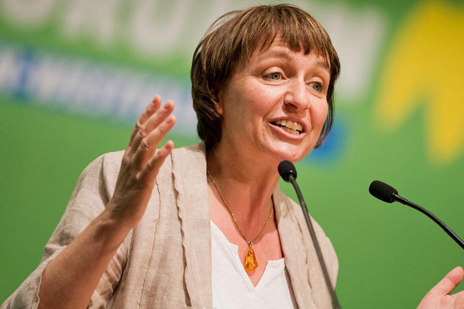 """Fraktionsvorsitzende Monika Düker und ihre Grünen wollen die """"Oppositionsführerschaft"""" an sich reißen."""